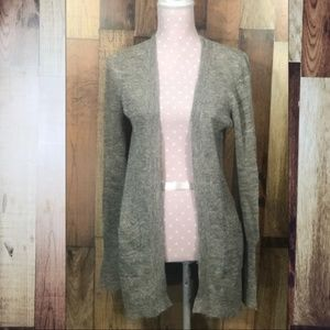 J.Crew Dulphine shimmer open cardigan size small